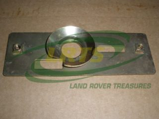 GENUINE LAND ROVER DEFENDER BONNET SLAM STRIKER PLATE PART MRC6978