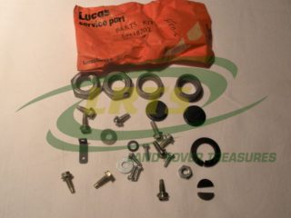 NOS LUCAS ALTERNATOR SUNDRY REPAIR KIT LAND ROVER SERIES PART 54218702