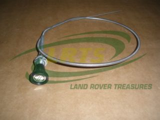 GENUINE LAND ROVER STOP CABLE 2.25L DIESEL SERIES 3 RIGHT HAND DRIVE PART 599339