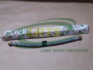 GENUINE LAND ROVER OIL COOLER FLEXI PIPE SERIES 1958 84 INCLUDING MILITARY PART 537516