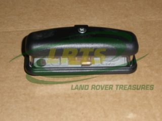 LAND ROVER SERIES II III AND DEFENDER REAR NUMBER PLATE LAMP PART XFC100550