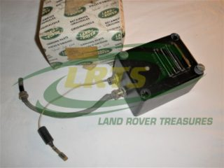 NOS GENUINE LAND ROVER 24 VOLTS SCREENED IGNITION FILTER FOR MILITARY VEHICLES PART 552606