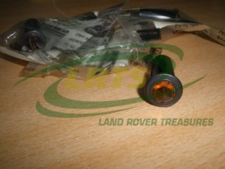 NOS-GENUINE-LAND-ROVER-DASH-WARNING-LAMP-LENS-ORANGE-SERIES-3-101 FORWARD CONROL-PART-559322