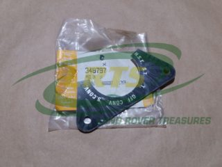 GENUINE LAND ROVER 6 WAY LIGHT SWITCH LABEL SERIES LIGHTWEIGHT DEFENDER 90 110 PART 348797