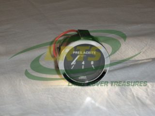 GENUINE LAND ROVER SANTANA SERIES III OIL PRESSURE GAUGE PART 589137