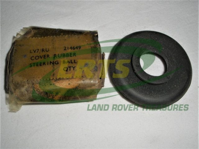 GENUINE LAND ROVER TRACK ROD END RUBBER COVER SERIES 101 FORWARD CONTROL DEFENDER RANGE ROVER CLASSIC PART 214649