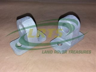LAND ROVER MILITARY LIGHTWEIGHT TOWING LIFTING TIE DOWN EYES PER PAIR 559882