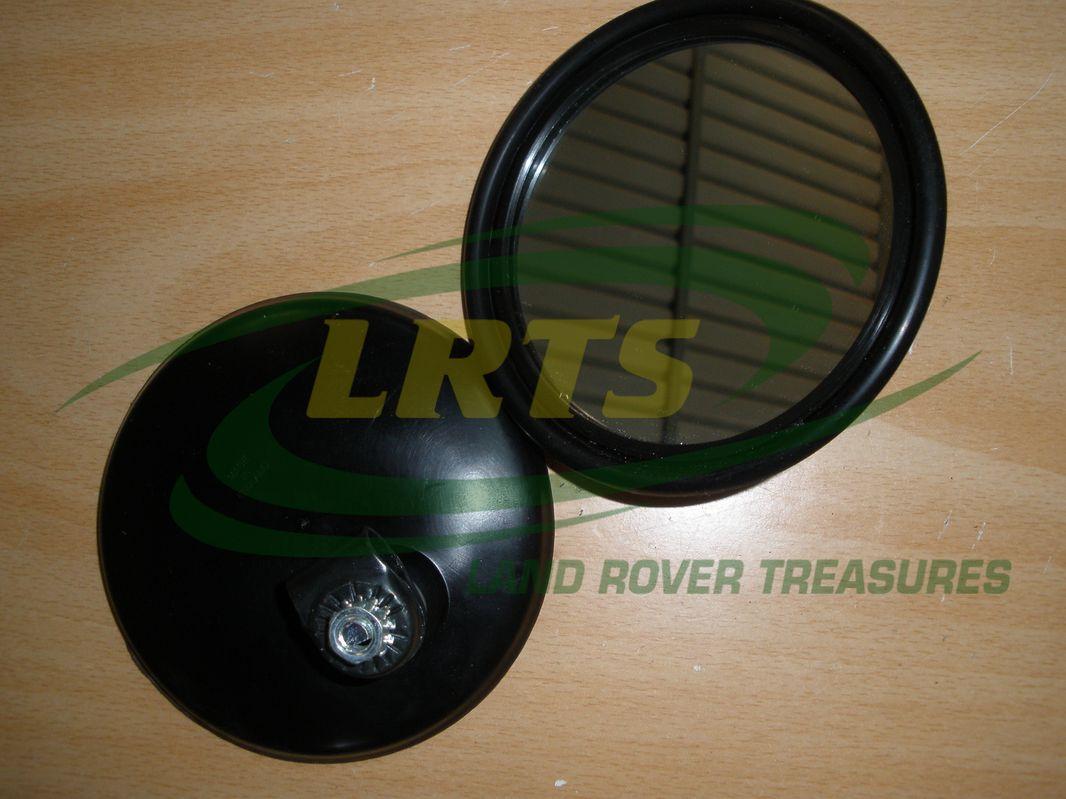 LAND ROVER SERIES 2 2A 3 ROUND MIRROR HEAD 606187