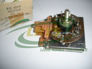 NOS GENUINE LAND ROVER 12 VOLTS ALTERNATOR RECTIFIER SERIES III 101FWC PART RTC4609