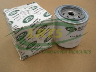 NOS GENUINE LAND ROVER OIL FILTER DEFENDER DISCOVERY RRC P38 PART ERR3340 ERR1168