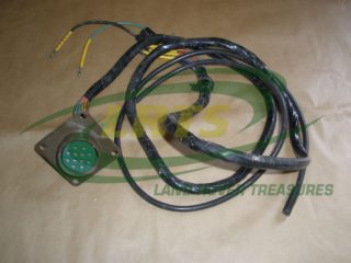 NOS LAND ROVER 12 PIN NATO SOCKET WIRING ASSEMBLY CW LEADS MILITARY SERIES & DEFENDER PART PRC3222