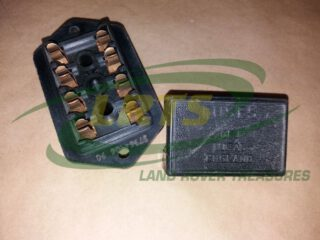 GENUINE FUSE BOX AND COVER FOR LAND ROVER SERIES LIGHTWEIGHT AND 101 FORWARD CONTROL 575395