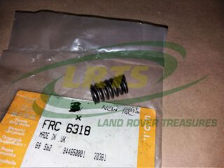 FRC6318 COIL SPRING GEAR PLUNGER LT77 TRANSMISSION LAND ROVER DISCOVERY