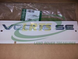 LR043919 DECAL VOGUE SE GENUINE LAND ROVER FOR RANGE ROVER