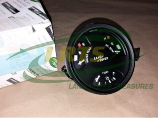 INSTRUMENT CLUSTER FUEL WATER OIL TEMPERATURE GENUINE LAND ROVER FOR SERIES LIGHTWIGHT AND FFR PRC1777