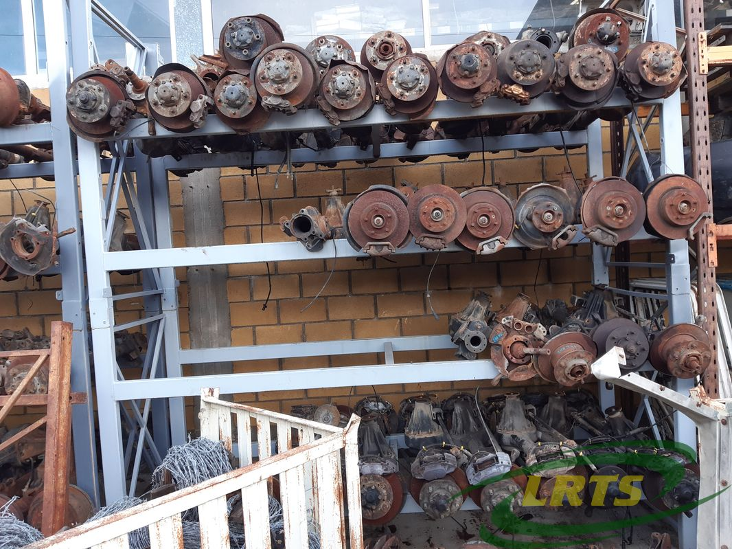 salvage Cyprus Land Rover LRTS parts axles axles