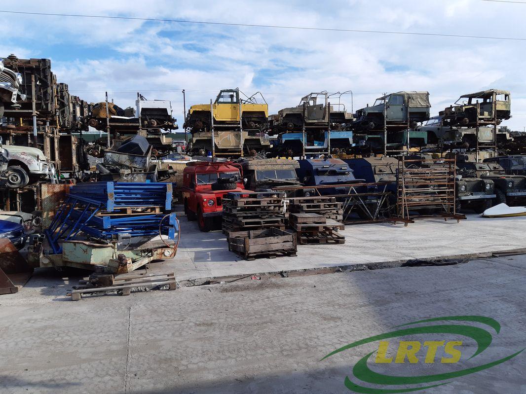 salvage Cyprus Land Rover LRTS parts Lightweight