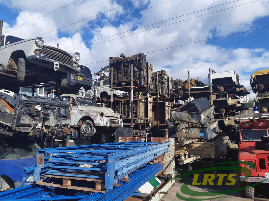 salvage Cyprus Land Rover LRTS parts military trailers