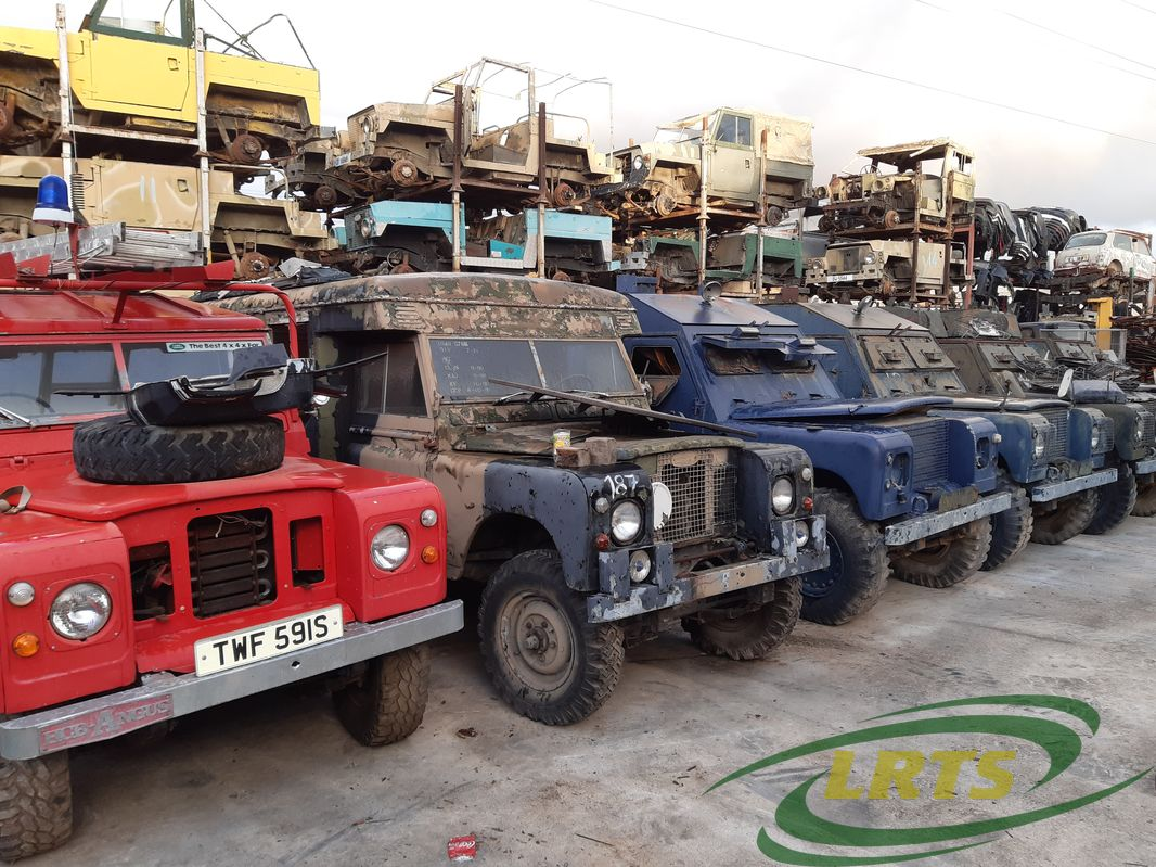 salvage Cyprus Land Rover LRTS parts series special editions