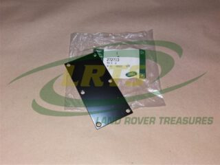 272713 TOP COVER PEDAL BOX LAND ROVER SERIES & DEFENDER