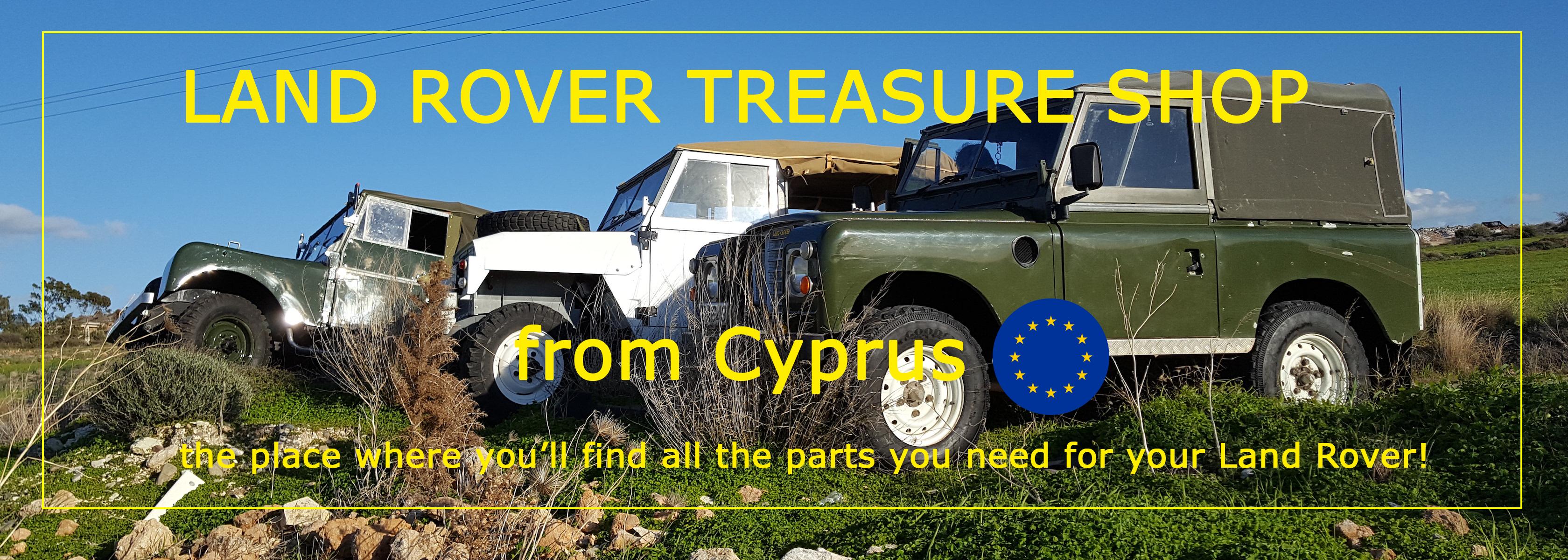 Land Rover Treasure Shop from Cyprus EU